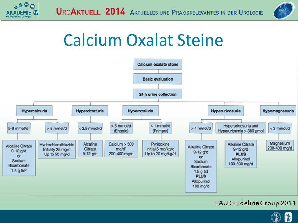 Calcium Oxalat Steine EAU Guideline Group 2014