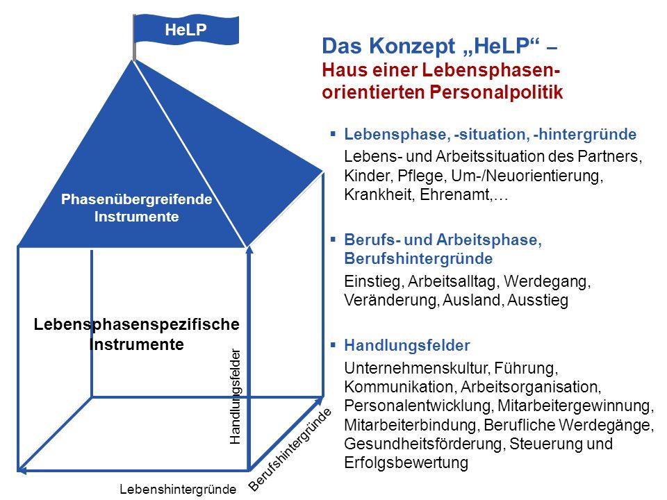 S11  Lebensphase, -situation, -hintergründe Lebens- und Arbeitssituation des Partners, Kinder, Pflege, Um-/Neuorientierung, Krankheit, Ehrenamt,…  B