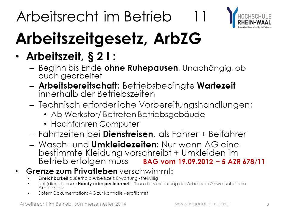 Arbeitsrecht im Betrieb 11 S Fall: Arbeitsmedizinische Untersuchung A, geb.1974, arbeitet seit 2000 als Busfahrer bei der B-GmbH (über10 Beschäftigte).