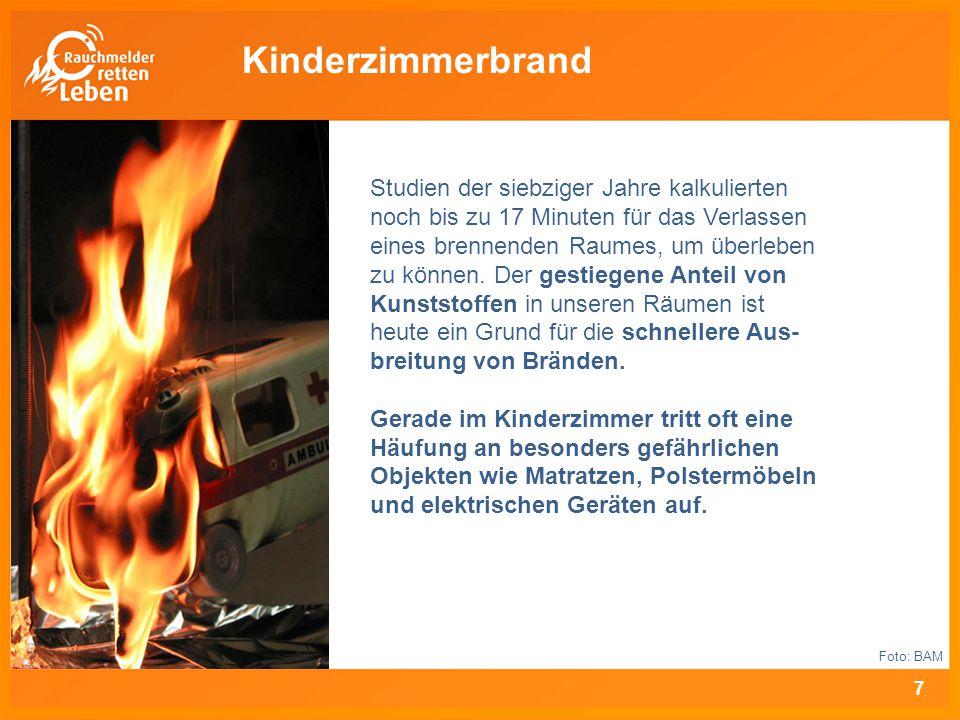 """www.rauchmelder-lebensretter.de """"Rauchmelder retten Leben ist eine bundesweite Aufklärungs- kampagne des Forum Brand- rauchprävention in der vfdb."""