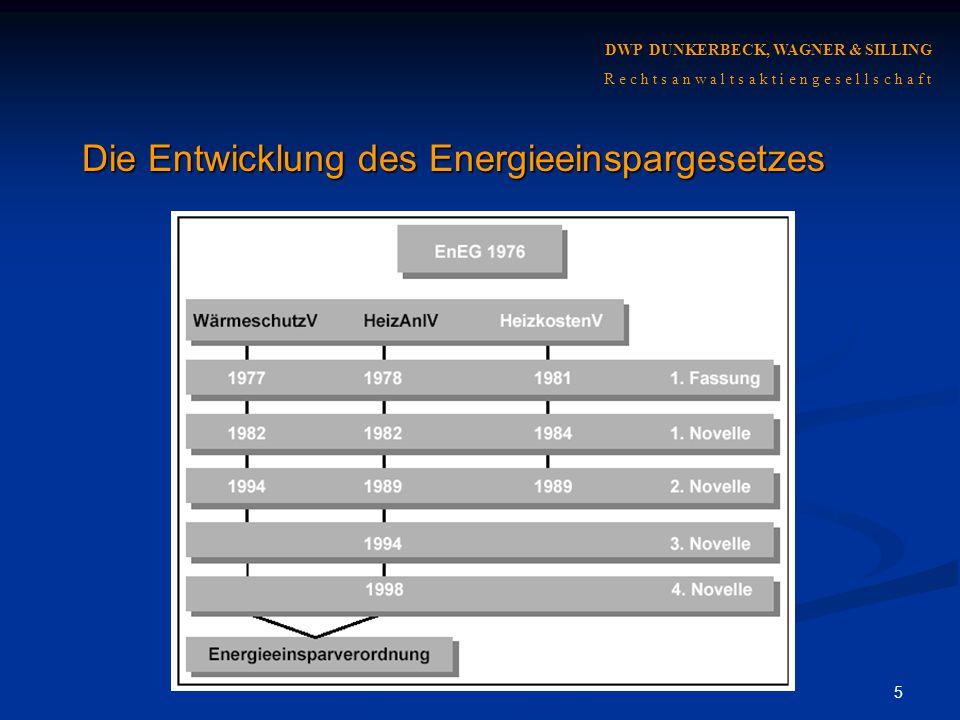 16 Teil 2: Grundlagen der vertraglichen Haftung DWP DUNKERBECK, WAGNER & SILLING R e c h t s a n w a l t s a k t i e n g e s e l l s c h a f t