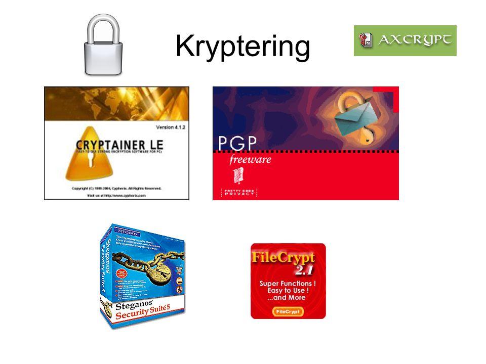 Computeren kan krypteres på såkaldt BIOS- niveau.