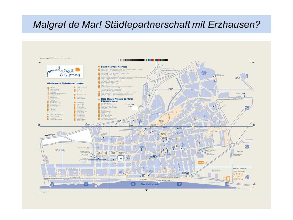 Malgrat de Mar! Städtepartnerschaft mit Erzhausen?
