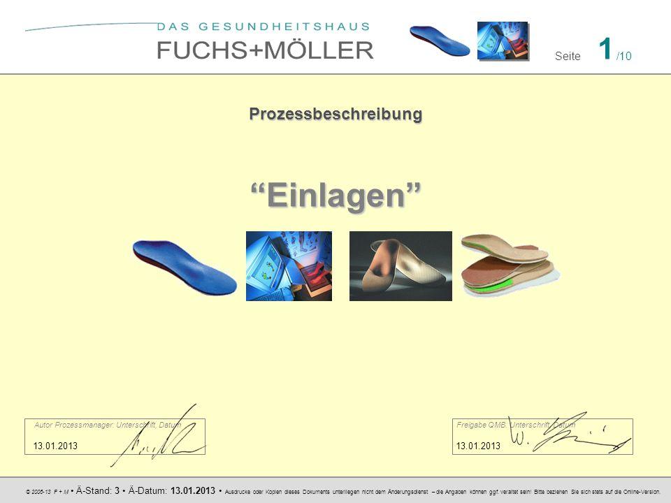 © 2006-13 F + M Ä-Stand: 3 Ä-Datum: 13.01.2013 Ausdrucke oder Kopien dieses Dokuments unterliegen nicht dem Änderungsdienst – die Angaben können ggf.