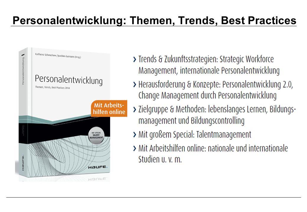 Personalentwicklung: Themen, Trends, Best Practices