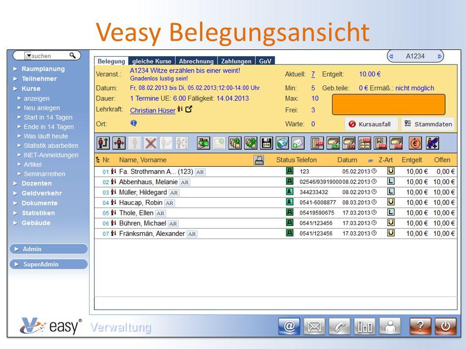 21.08.2014Alexander Franksmann5 Veasy Belegungsansicht