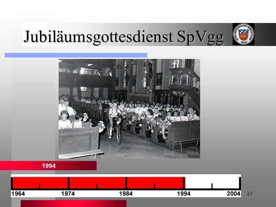 23 Jubiläumsgottesdienst SpVgg 1994