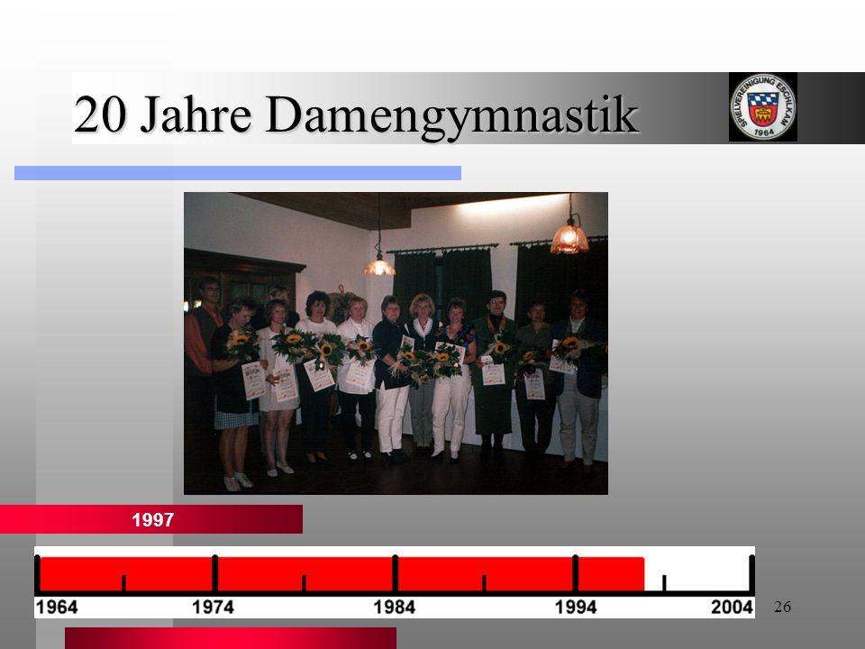 26 20 Jahre Damengymnastik 1997