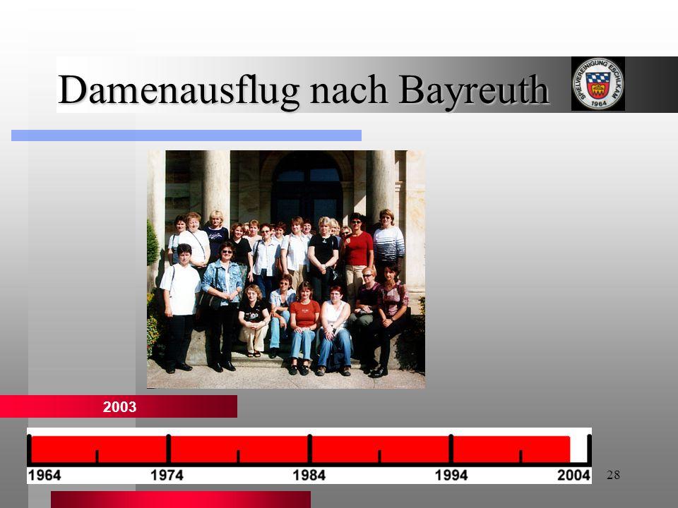 28 Damenausflug nach Bayreuth 2003