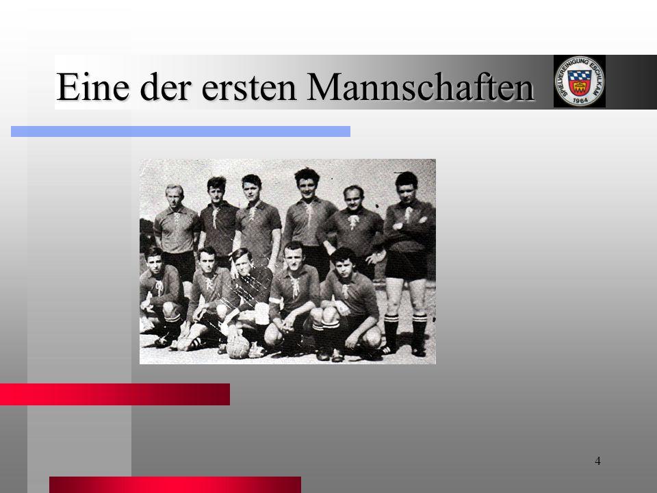 5 A-Jugend Meister 1968 / 1969