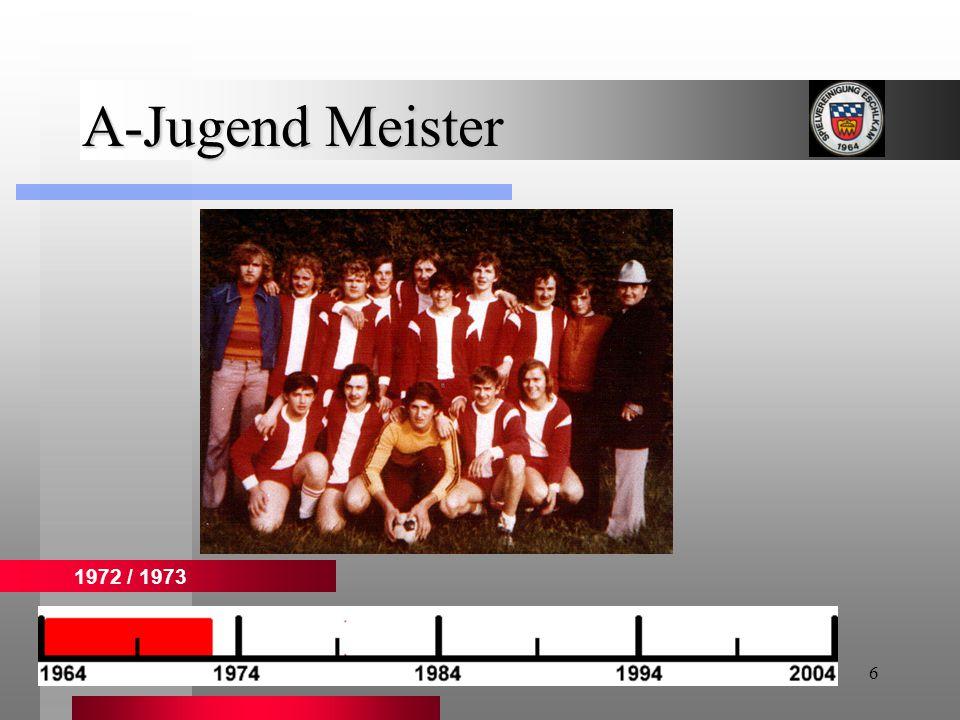 7 1. Mannschaft 1976 / 1977