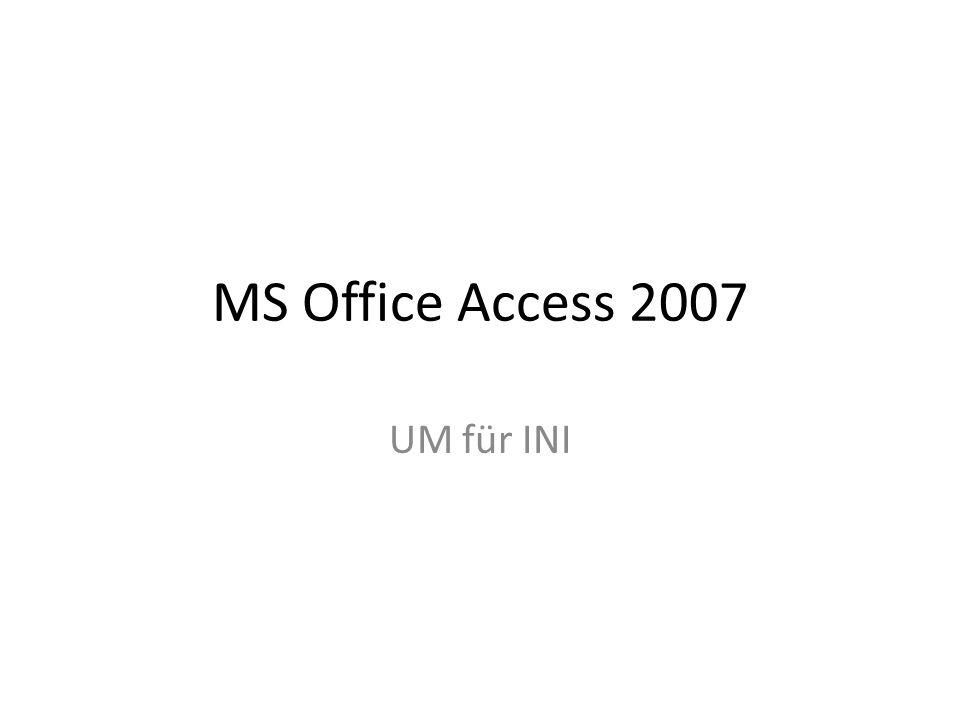 Durch Access-Formulare und -Berichte werden Daten besser lesbar
