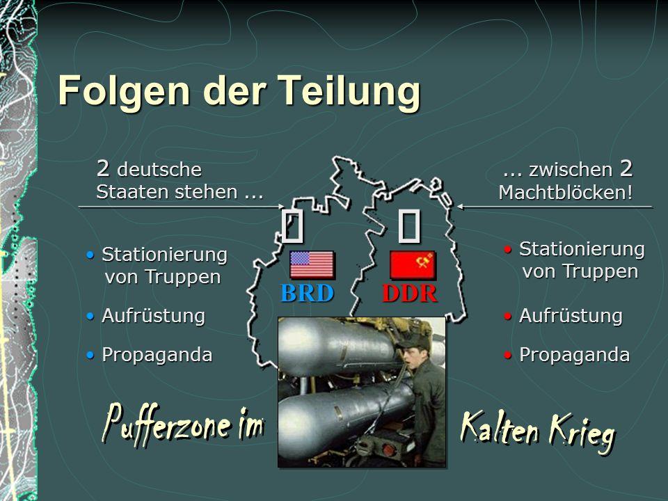 Marshallplan bis 1952 Marshallplan bis 1952 Folgen der Teilung Reparationen an die UdSSR Reparationen an die UdSSR DDR Demokratie Bundesstaat Demokrat