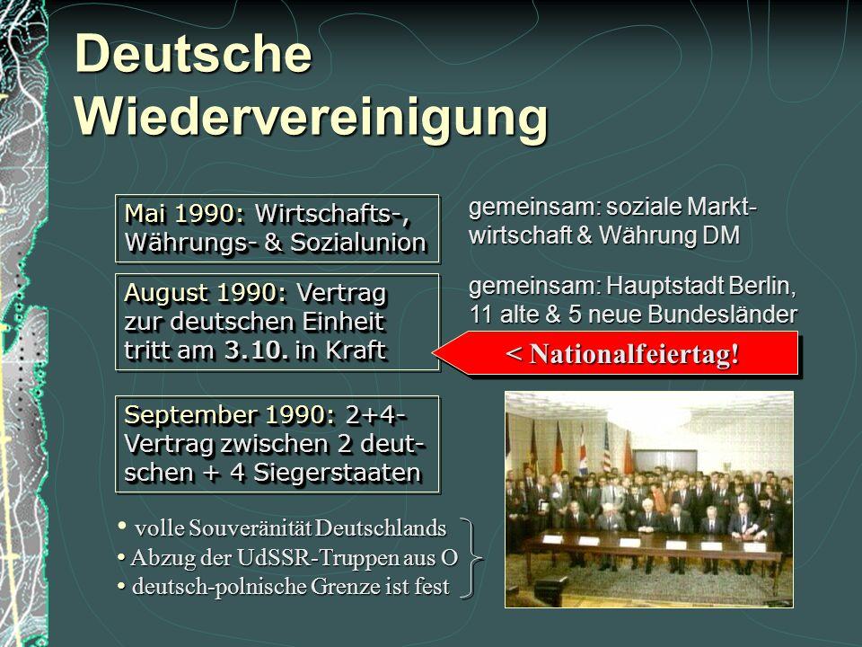 Deutsche Wiedervereinigung  Protest in der DDR gegen die SED (Sozialistische Einheitspartei Deutschlands) bei der 40-Jahr-Feier;  SED-Chef Erich Hon