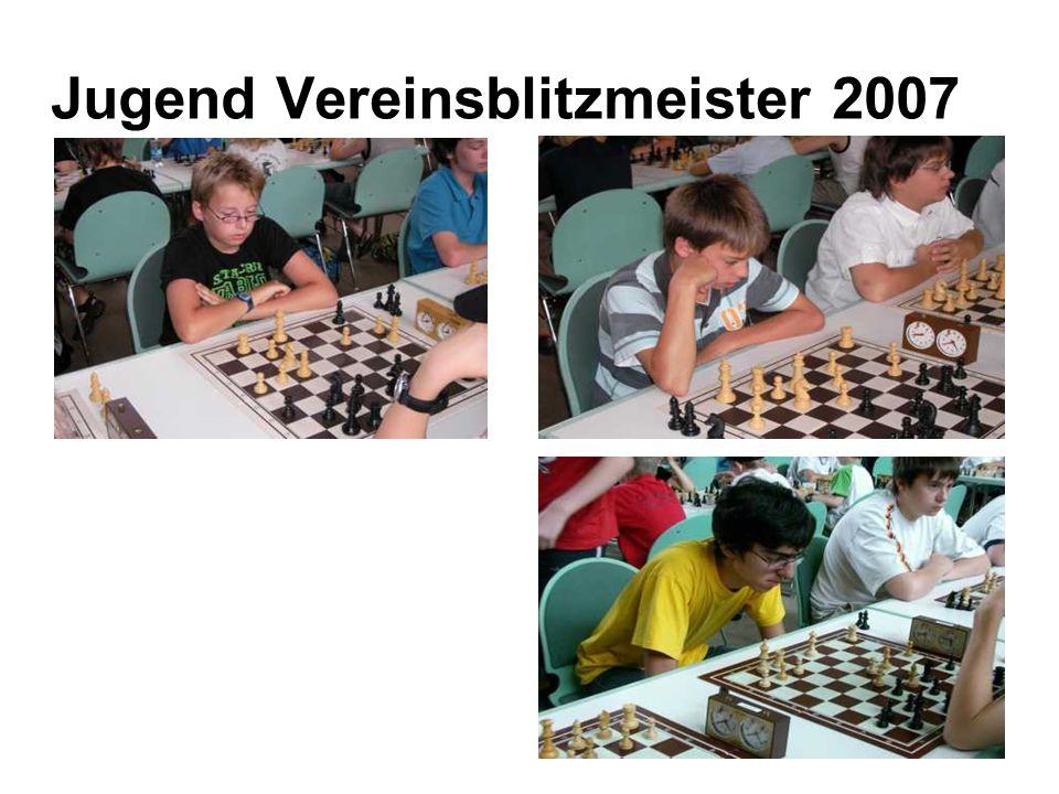 Jugend Vereinsblitzmeister 2007
