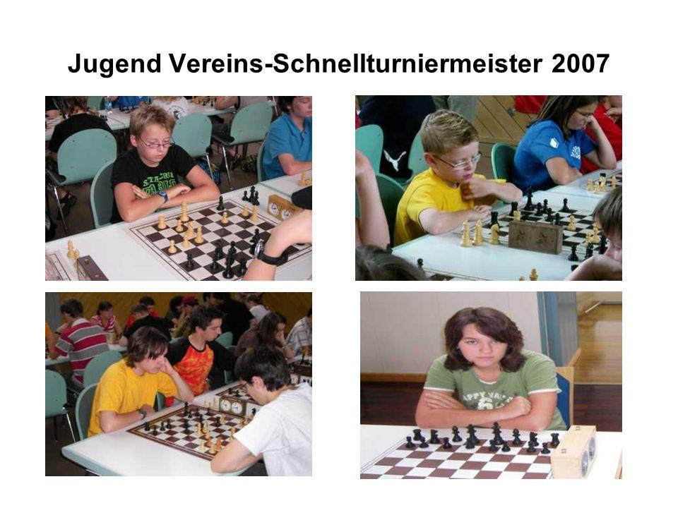 Jugend Vereins-Schnellturniermeister 2007