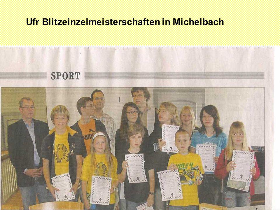Ufr Blitzeinzelmeisterschaften in Michelbach i