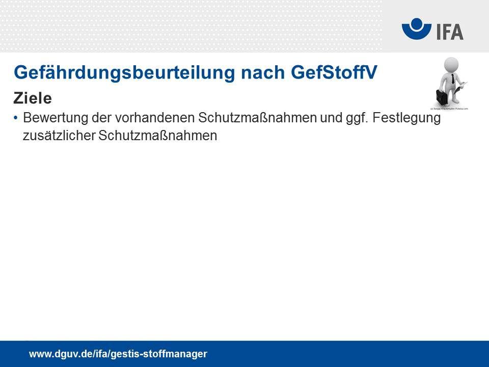""" Workshops: """"Arbeiten mit dem GESTIS-Stoffmanager , DGUV Akademie Dresden (IAG) 10./11."""