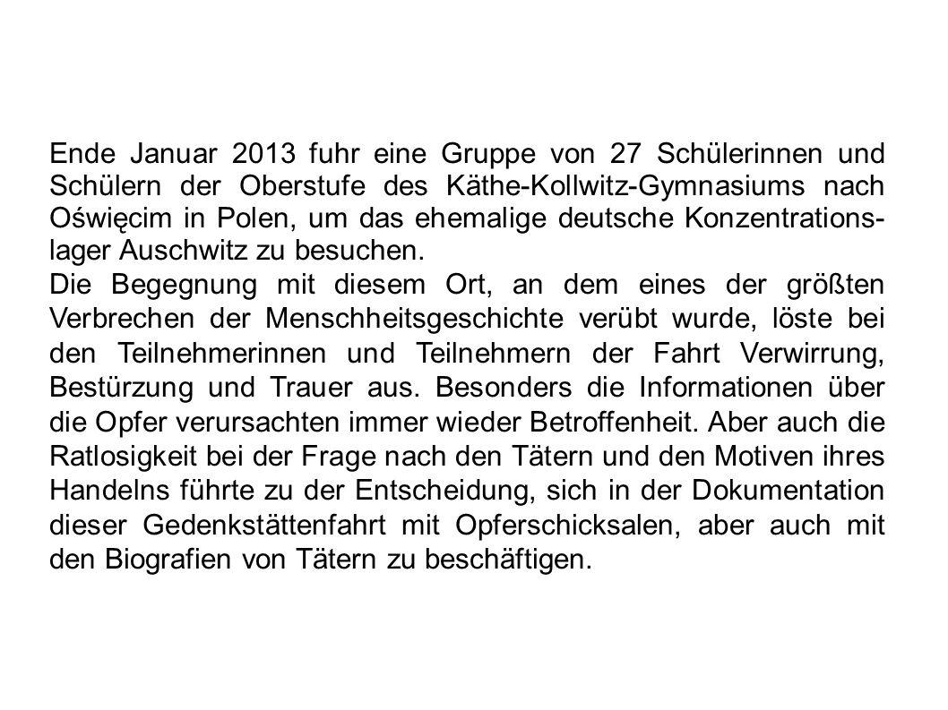 Zeit in Auschwitz-Birkenau Häftlingsnummer 181970.