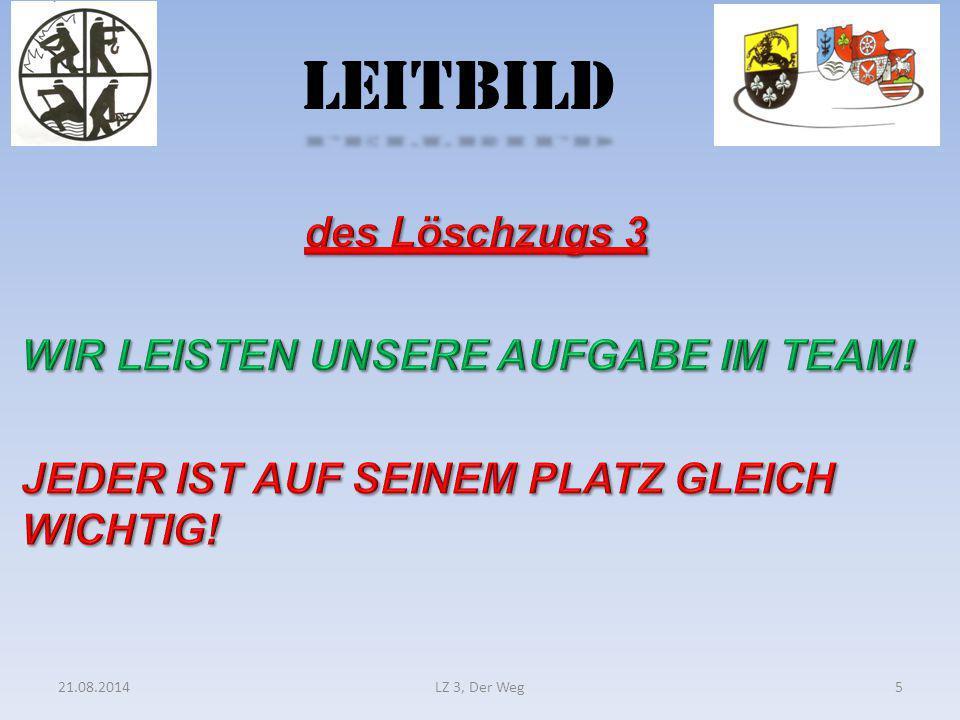 LEITBILD 21.08.2014LZ 3, Der Weg5