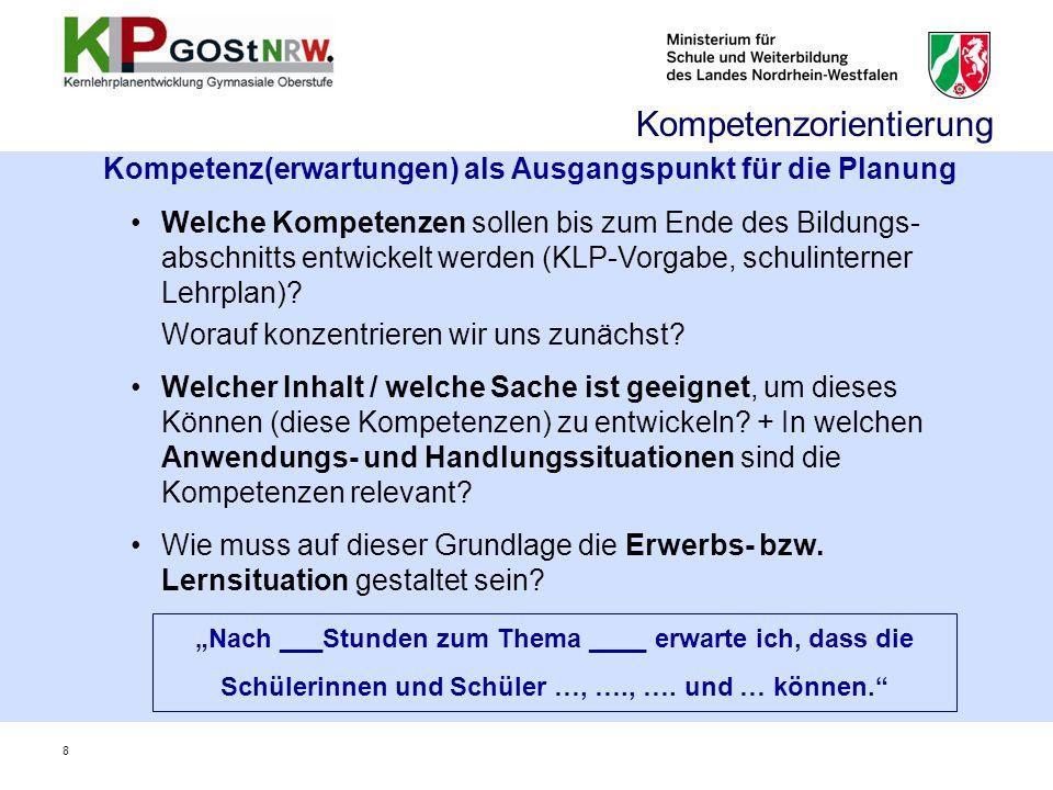 39 III. Lernerfolgsüberprüfung, Leistungsbewertung und Abiturprüfung