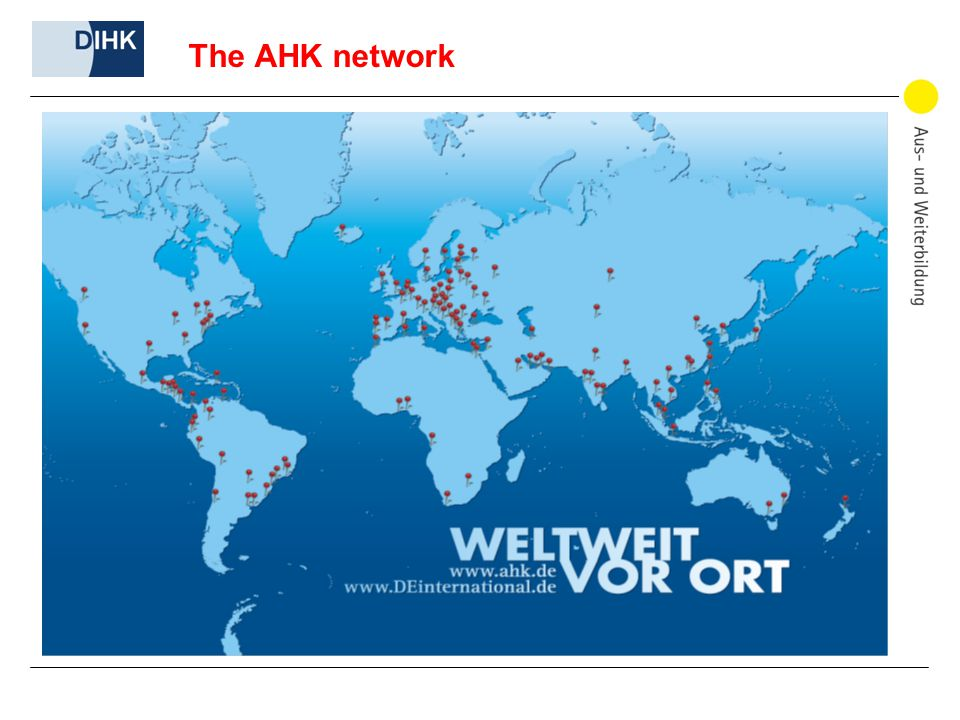 The AHK network