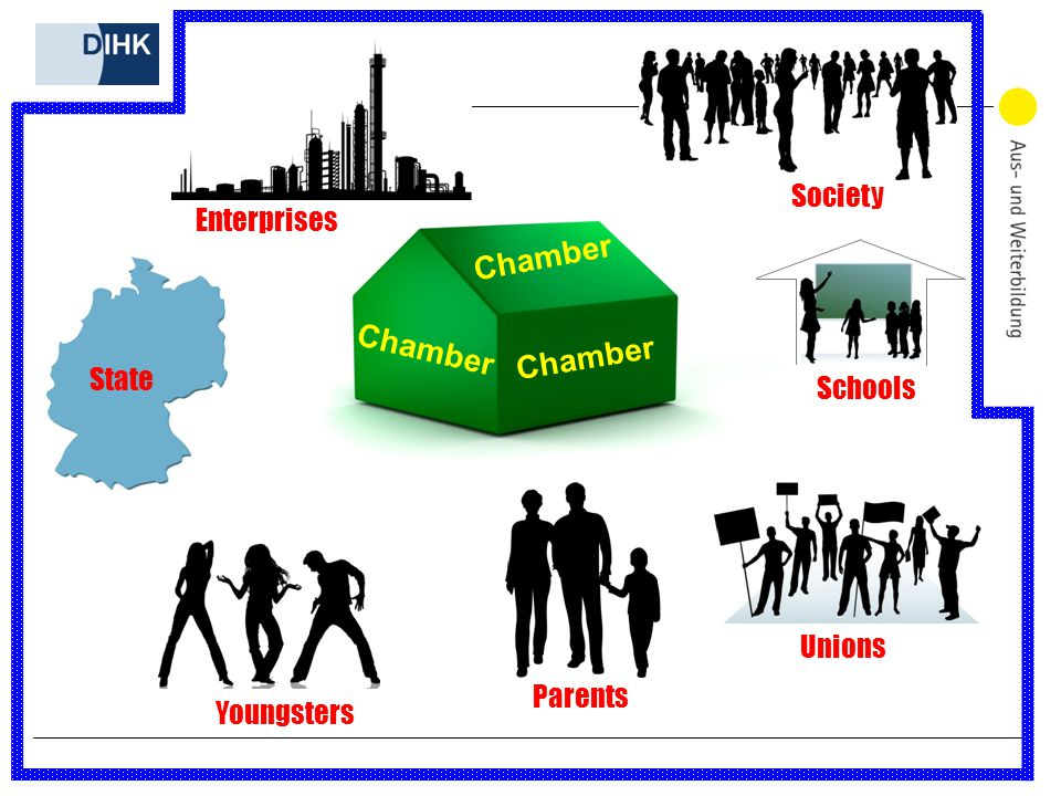 Chamber Enterprises State Youngsters Parents Unions Strike Schools Society Chamber