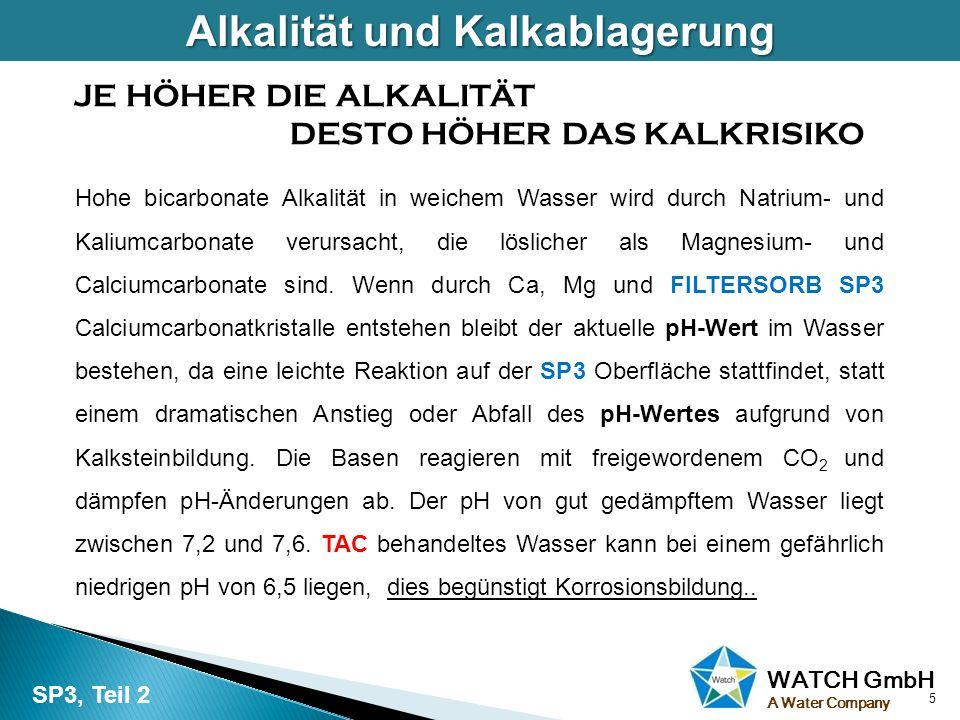 WATCH GmbH A Water Company Metalle wie Kupfer, Blei und Zink werden in alle Rohrsystemen verwendet.