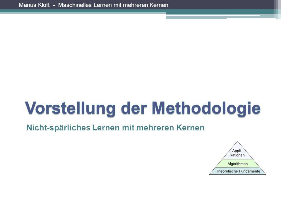Marius Kloft - Maschinelles Lernen mit mehreren Kernen Nicht-spärliches Lernen mit mehreren Kernen