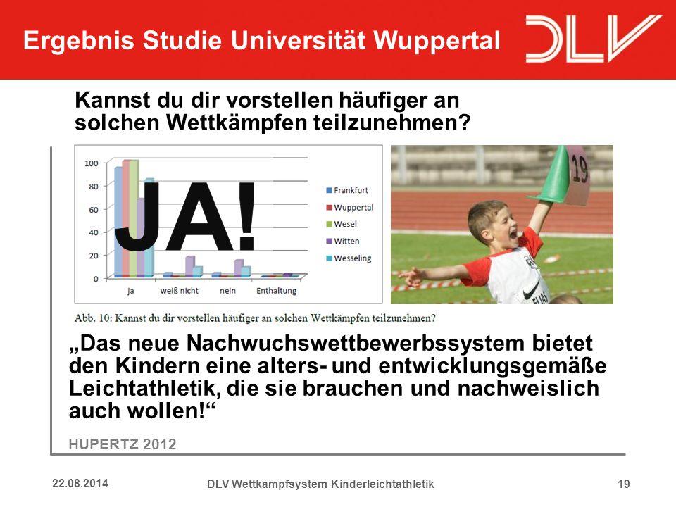 """1922.08.2014 """"Das neue Nachwuchswettbewerbssystem bietet den Kindern eine alters- und entwicklungsgemäße Leichtathletik, die sie brauchen und nachweis"""