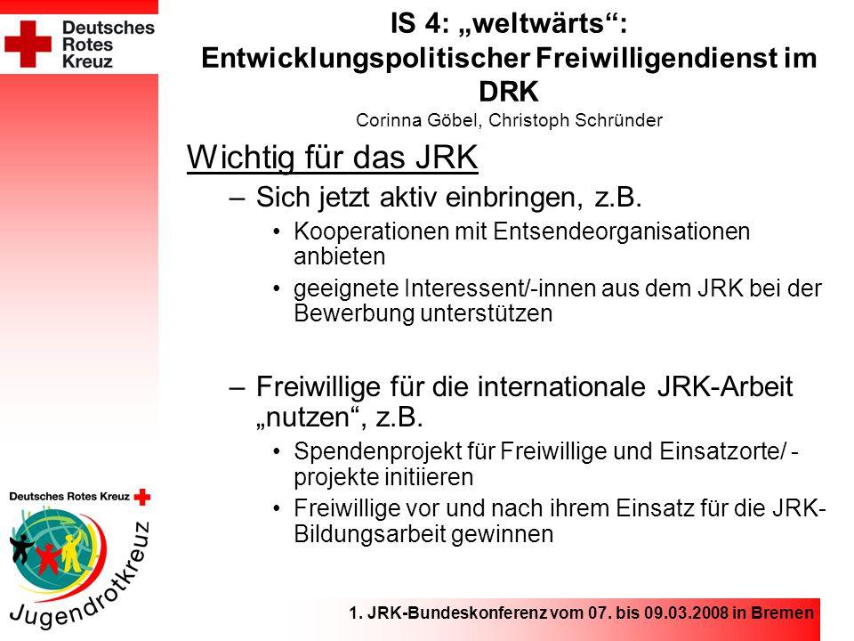 1. JRK-Bundeskonferenz vom 07.