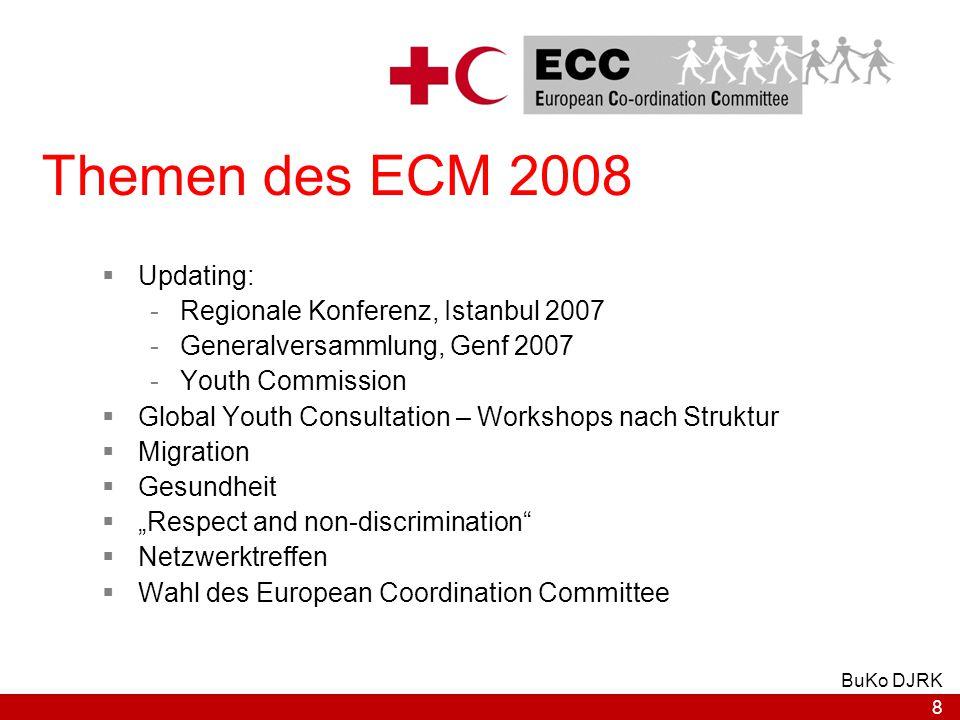 General Versammlung Regionale Konferenz ECM EURCYN DACHL DJRK