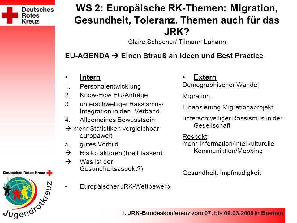 1.JRK-Bundeskonferenz vom 07.