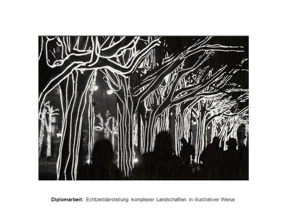 Diplomarbeit: Echtzeitdarstellung komplexer Landschaften in illustrativer Weise