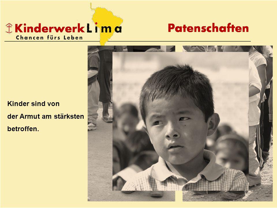 Kinder sind von der Armut am stärksten betroffen.