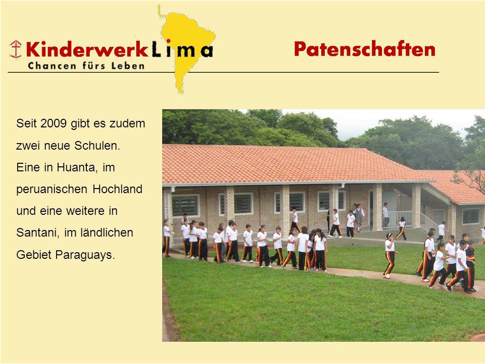 Seit 2009 gibt es zudem zwei neue Schulen.