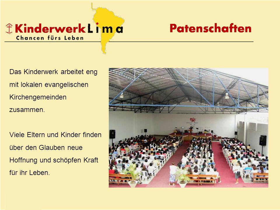 Das Kinderwerk arbeitet eng mit lokalen evangelischen Kirchengemeinden zusammen.