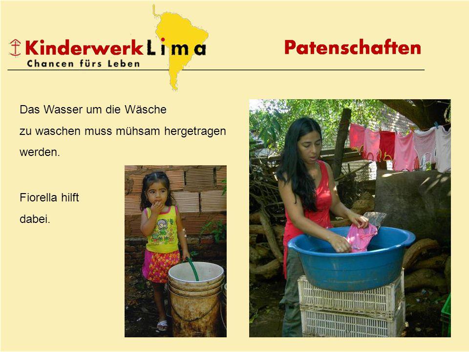 Patenschaften Kinderwerk Lima Oberwiesenstr.43, 8500 Frauenfeld Tel.
