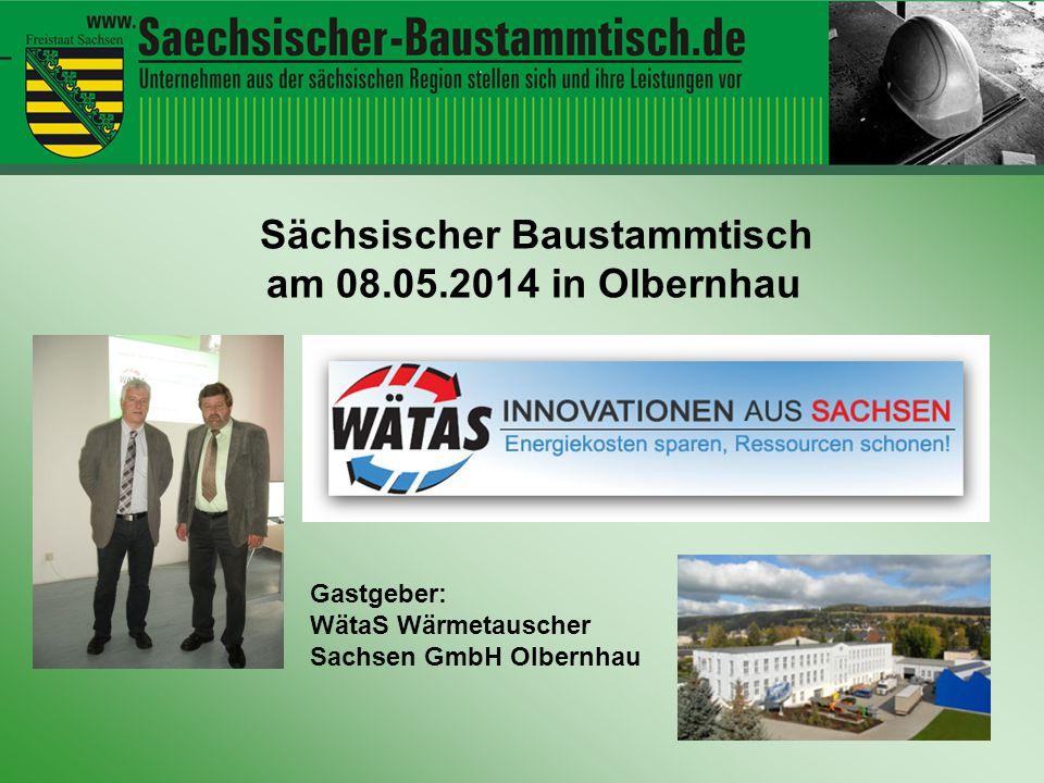 Fachvorträge WätaS Wärmetauscher Sachsen GmbH / SunStrom GmbH zum Thema: Energie einmal bezahlen – mehrfach nutzen.