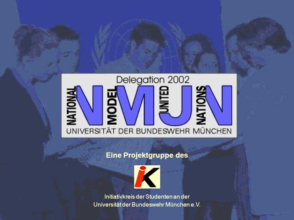 Eine Projektgruppe des Initiativkreis der Studenten an der Universität der Bundeswehr München e.V.