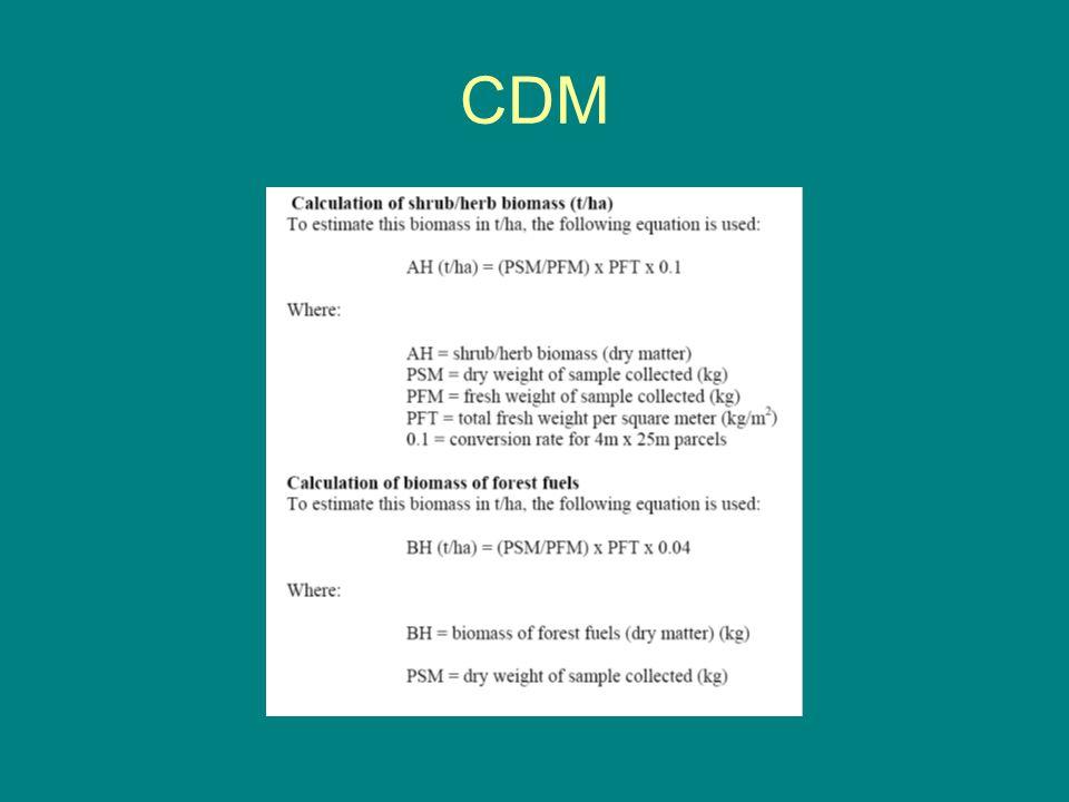 """Verfahren Als CDM-Verfahren durchläuft die Hügelbeetkultur als """"small-scale-project"""" vereinfachte Durchführungsverordnungen bis zur Anerkennung: Paten"""