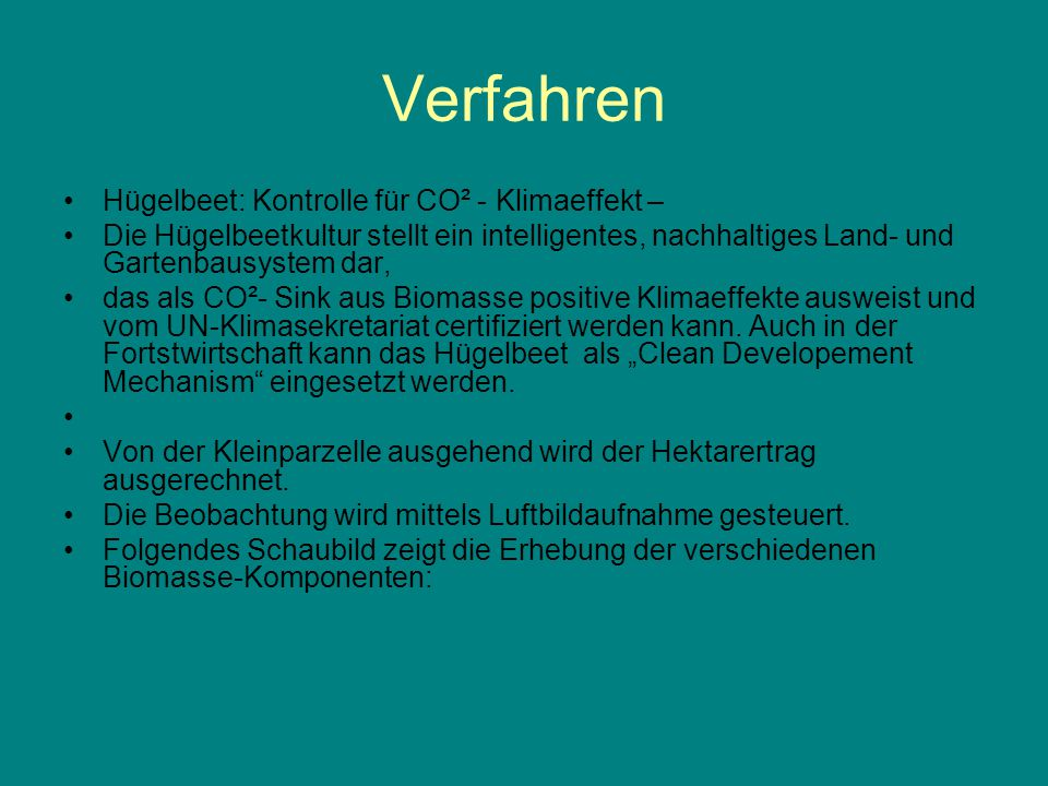 Klimabewertung Evaluierung als small-scale CDM Clean Developement Mechanisms - forestry - agriculture