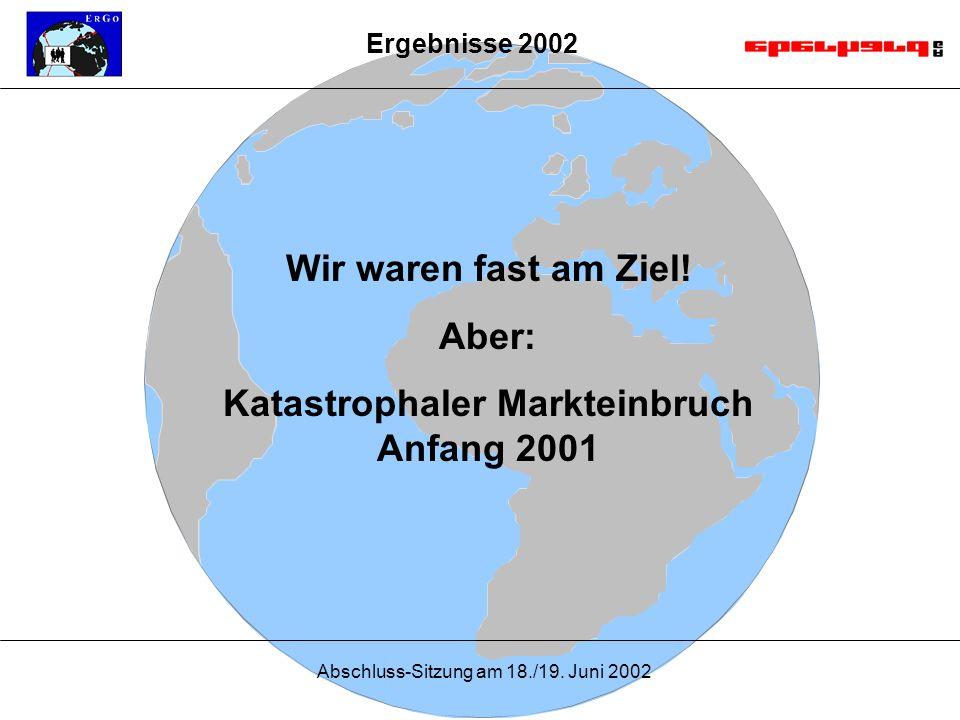 Abschluss-Sitzung am 18./19. Juni 2002 Wir waren fast am Ziel.