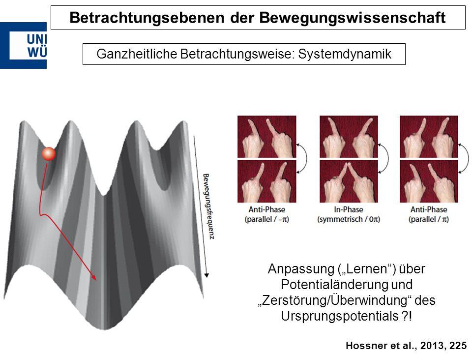 """Ganzheitliche Betrachtungsweise: Systemdynamik Anpassung (""""Lernen"""") über Potentialänderung und """"Zerstörung/Überwindung"""" des Ursprungspotentials ?! Bet"""