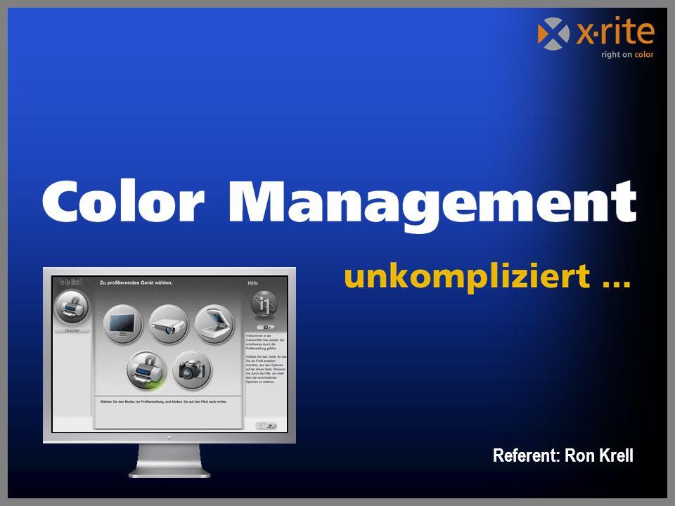 Welchen Nutzen bringt ColorManagement.