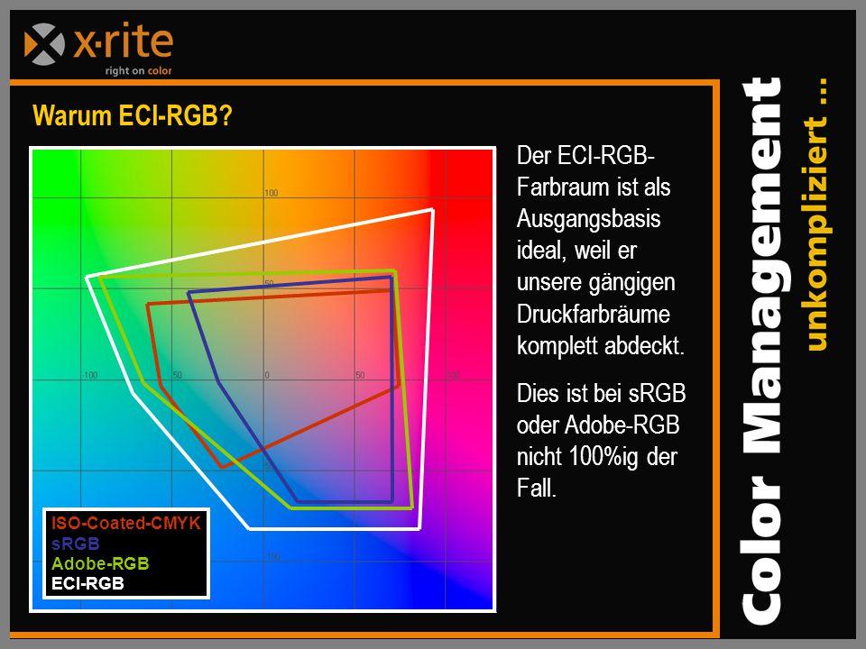Warum ECI-RGB.
