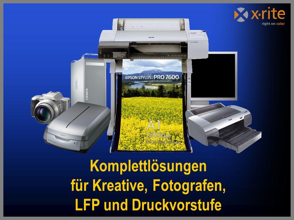 Komplettlösungen für Kreative, Fotografen, LFP und Druckvorstufe