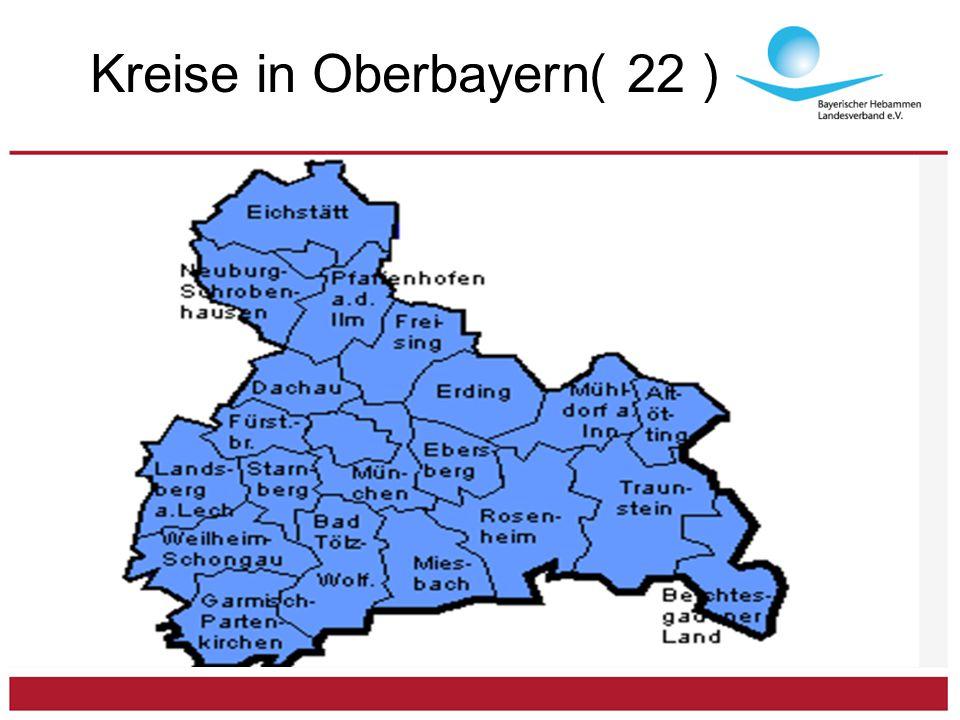 Kreise in Oberbayern( 22 )