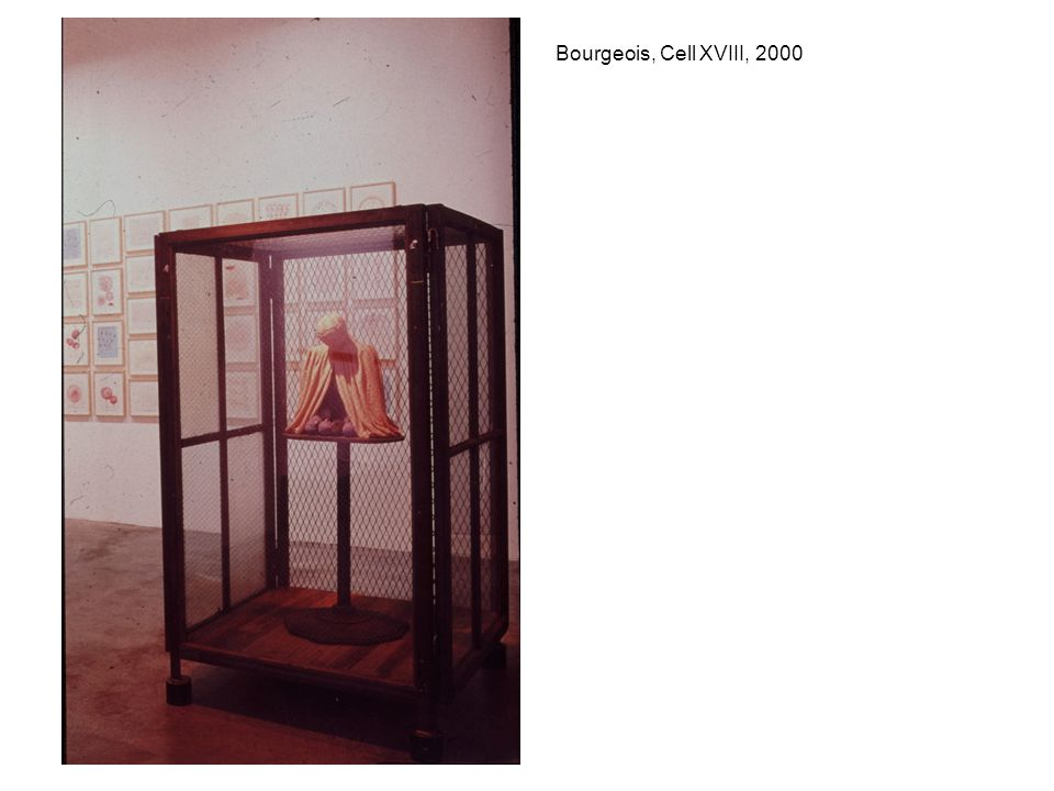 Bourgeois, Cell XVIII, 2000
