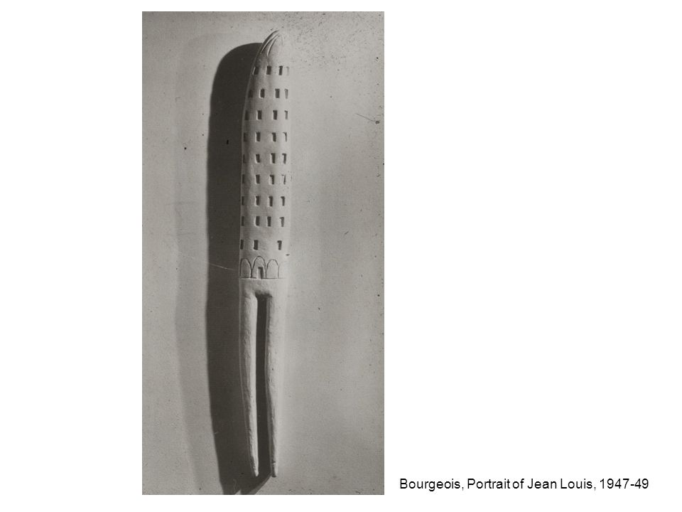 Bourgeois, Portrait of Jean Louis, 1947-49